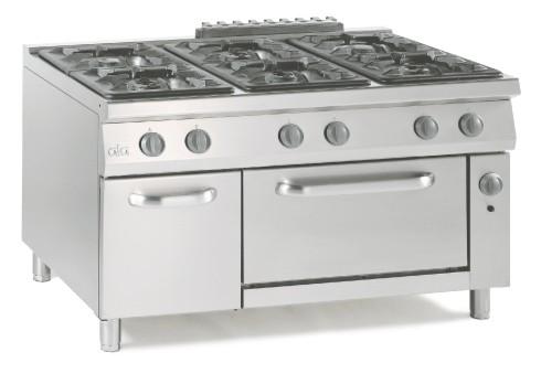 € 3542.00. cucina a gas ata sei fuochi con forno gas