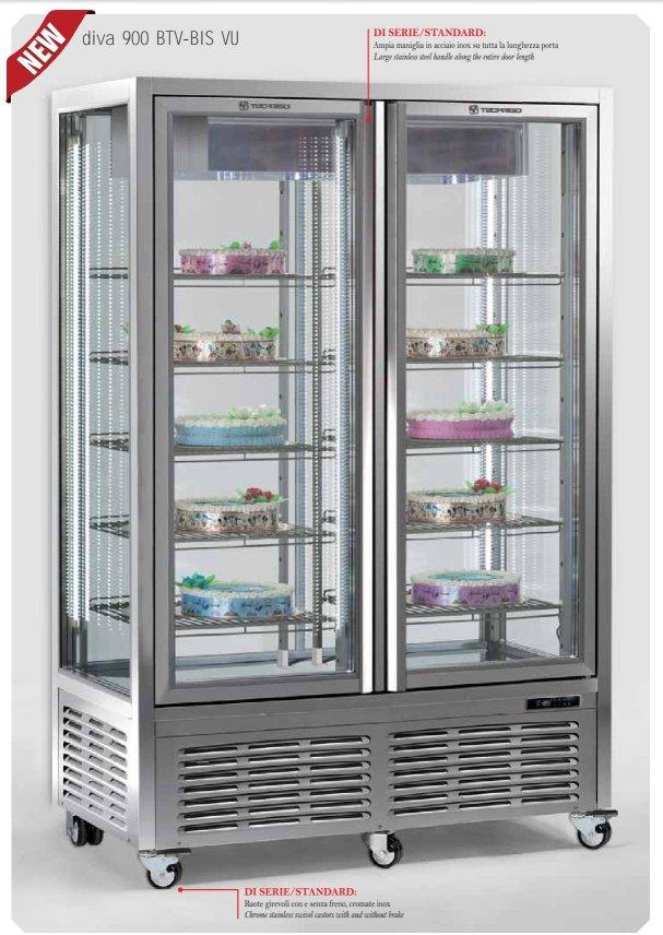 Vetrina refrigerata diva 900 gs vu 4 10 attrezzature for Gs arredamenti di straziuso raffaele