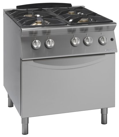 Cucina 4 fuochi Giorik con forno a gas - Attrezzature ed ...