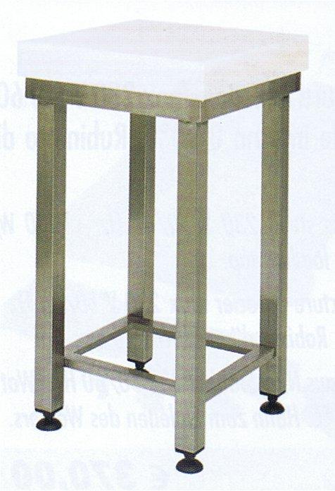 Ceppi polietilene forcar con sgabello varie misure for Ceppi arredamenti