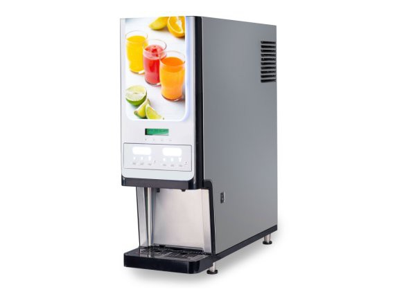 2 CHILL Dispenser di bevande fredde a base di succo concentrato, con camera refrigerata