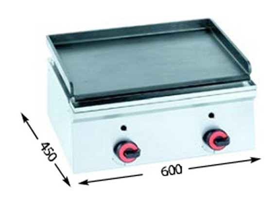 Fry - Top a gas FRY 600G Snack Mini 450.