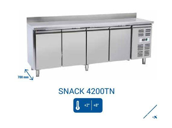 08 tavoli refrigerati positivi prof cm 55 60 for Tavolo snack