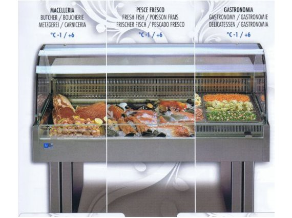 Vetrina refrigerata Shopping 1100 Cold